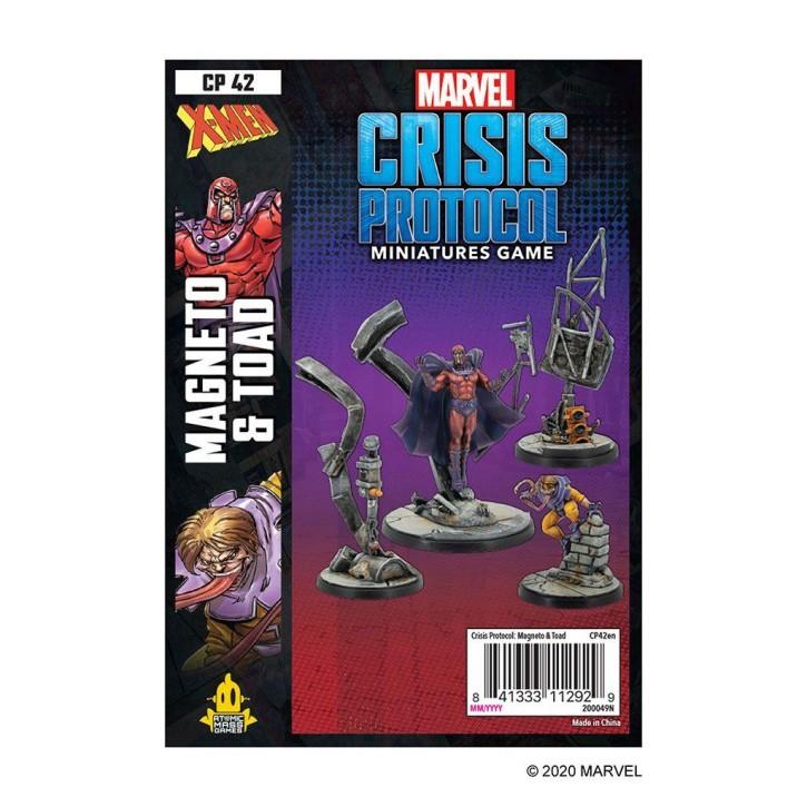 MARVEL CRISIS: Magneto and Toad - EN