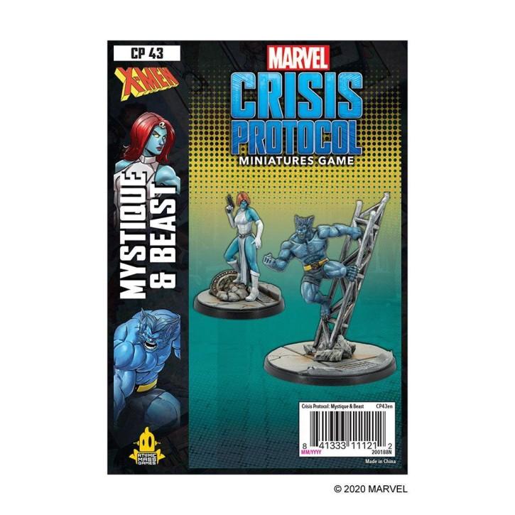 MARVEL CRISIS: Mystique and Beast - EN