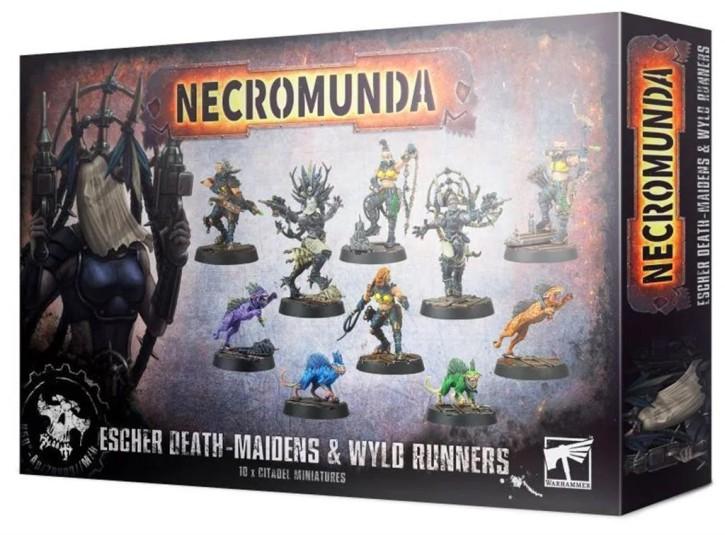 NECROMUNDA: Escher Death Maidens & Wyld Runners