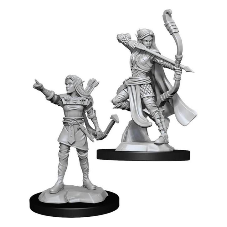 D&D MARVELOUS MINIS: Elf Ranger Female