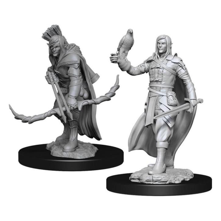 D&D MARVELOUS MINIS: Elf Ranger Male