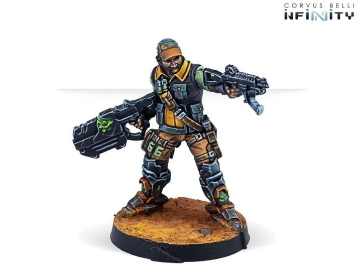 INFINITY: Monstruckers (Submachine Gun)