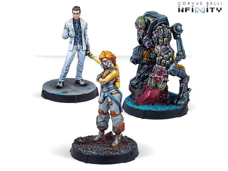INFINITY: Dire Foes Mission Pack Beta: Void Tango