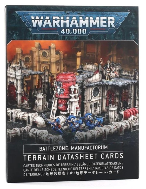W40K: Battlezone Manufactorum Datasheet Cards - EN