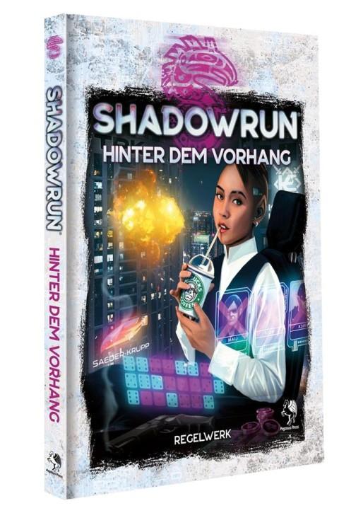 SHADOWRUN 6: Hinter dem Vorhang (Hardcover) - DE