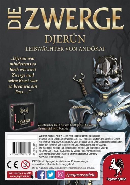 DIE ZWERGE: Charakterpack: Djerun - DE