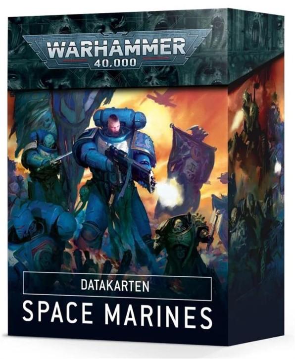 W40K: Datacards: Space Marines - DE