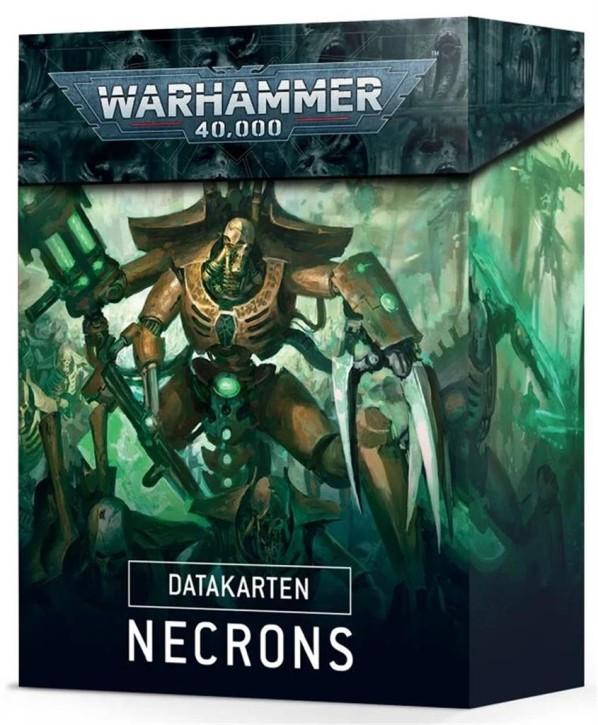 W40K: Datacards: Necrons - DE