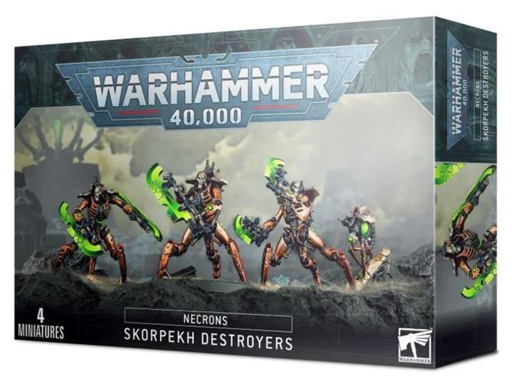 W40K: Skorpekh Destruktoren
