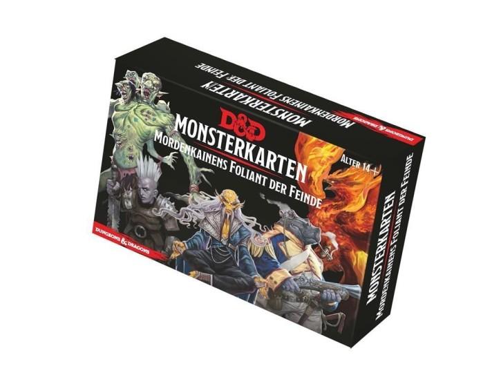 D&D: Monsterkarten: Mordenkainens Foliant der Feinde - DE