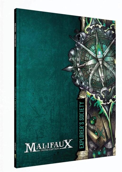 MALIFAUX 3RD: Explorers Society Faction Book - EN
