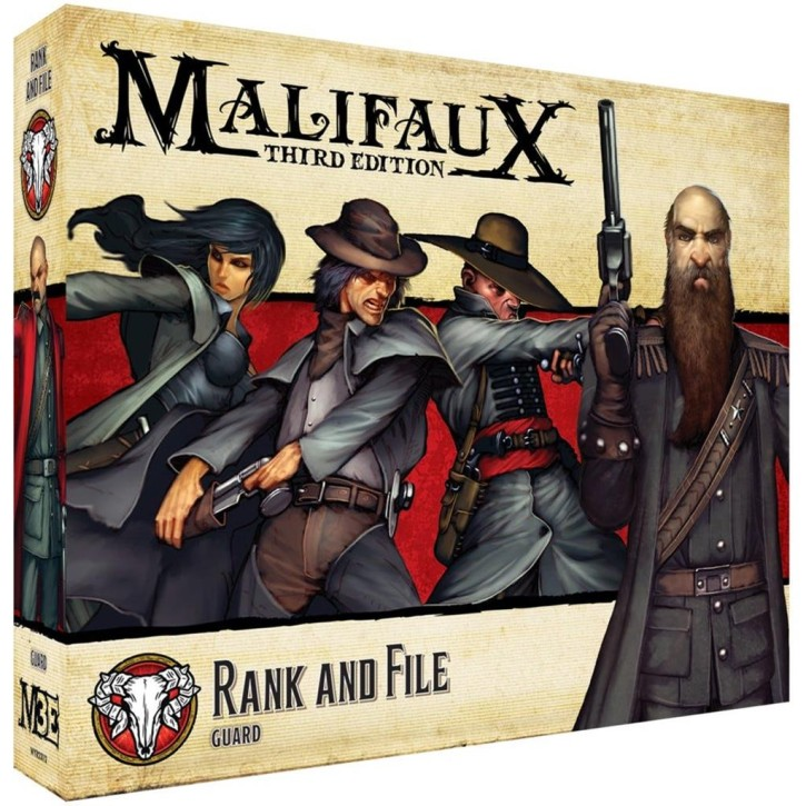 MALIFAUX 3RD: Rank and File - EN