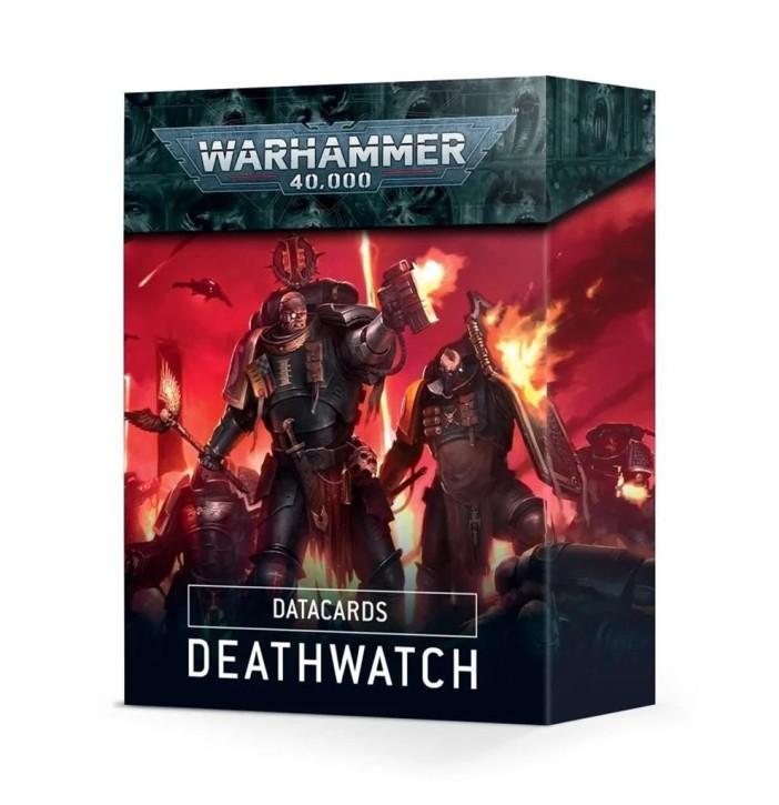 W40K: Datacards: Deathwatch - EN