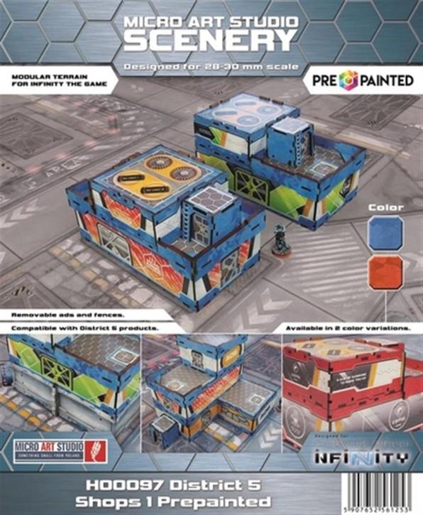 MICRO ART: District 5 Shops 1 (2) PREPAINTED