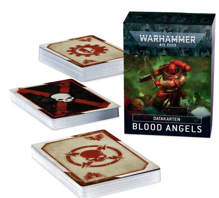 W40K: Datacards: Blood Angels - DE