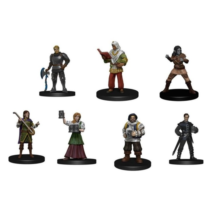 D&D ICONS OF THE REALMS: Friendly Faces Pack