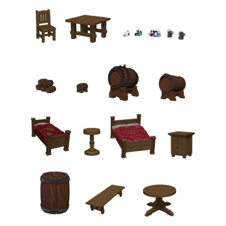 D&D ICONS OF THE REALMS: Beds & Bottles