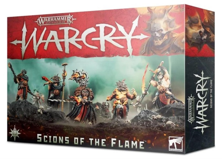 AOS: WARCRY: Scions Of The Flame