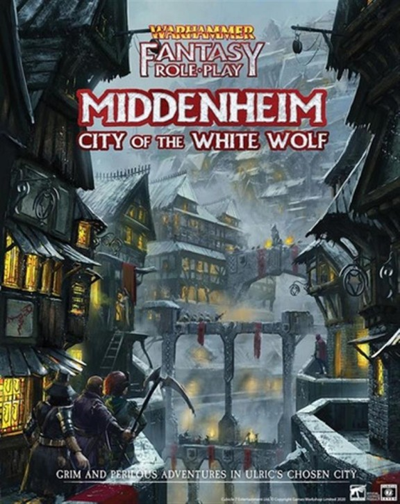WFRP 4TH: Middenheim: City of the White Wolf? - EN