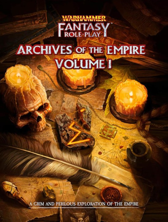 WFRP 4TH: Archives of the Empire - EN