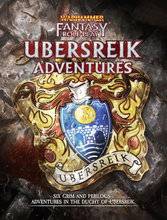 WFRP 4TH: Ubersreik Adventures - EN