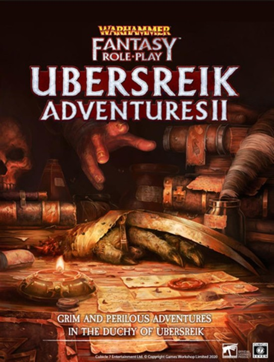 WFRP 4TH: Ubersreik Adventures II - EN