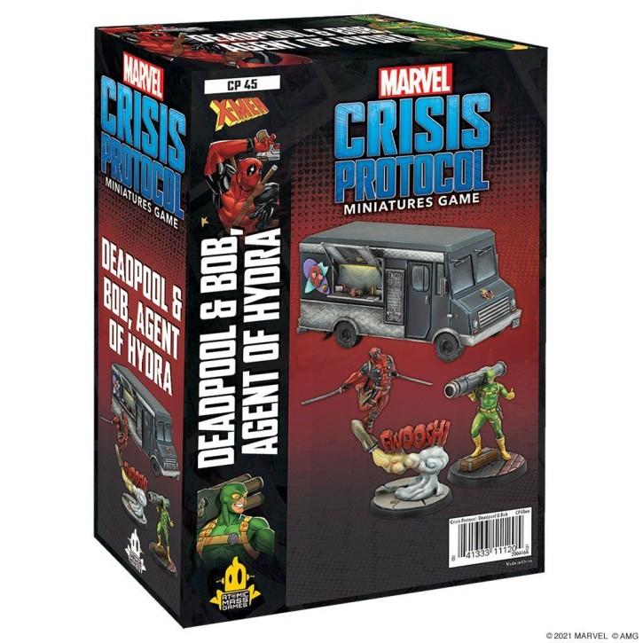 MARVEL CRISIS: Deadpool and Bob - EN