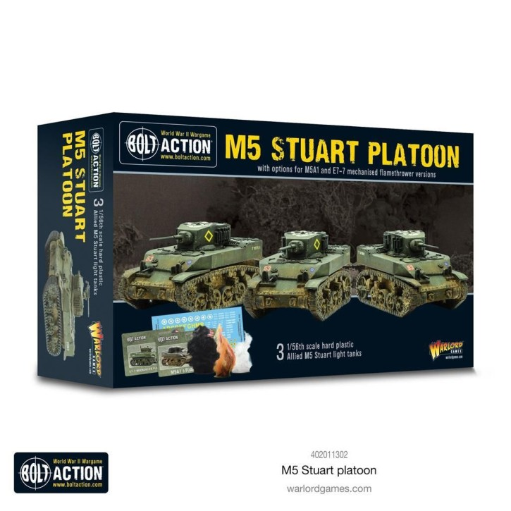 BOLT ACTION: M5 Stuart Platoon