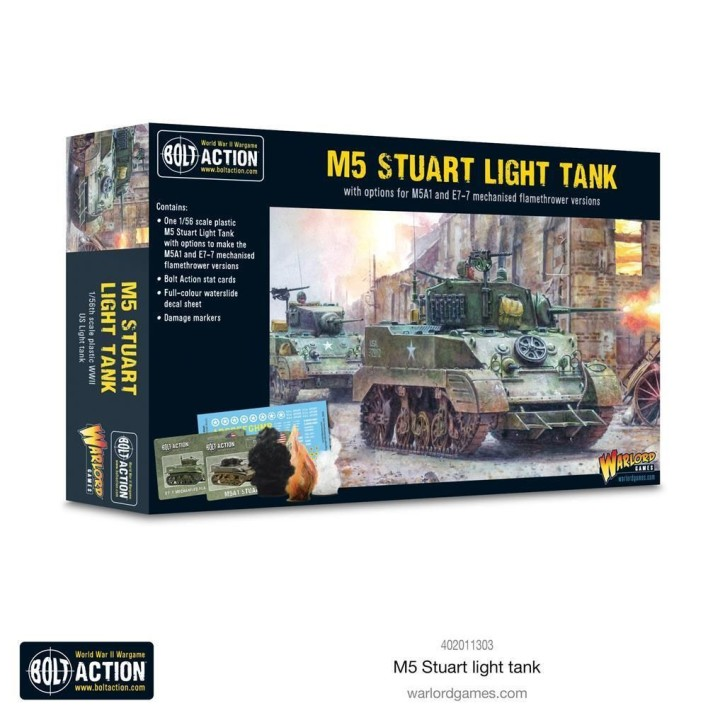 BOLT ACTION: M5 Stuart