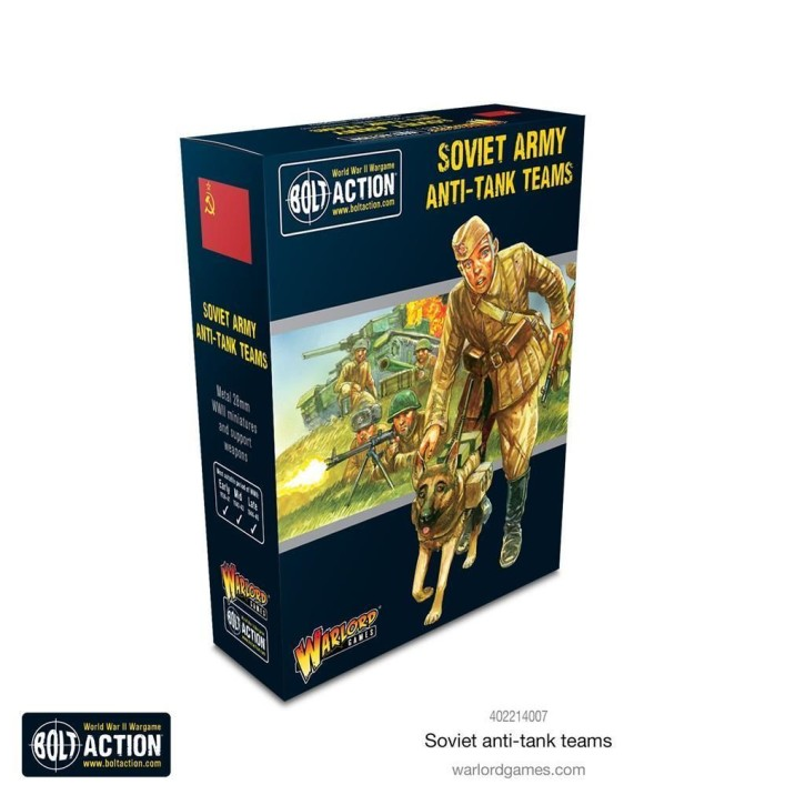 BOLT ACTION: Soviet Anti-tank Teams