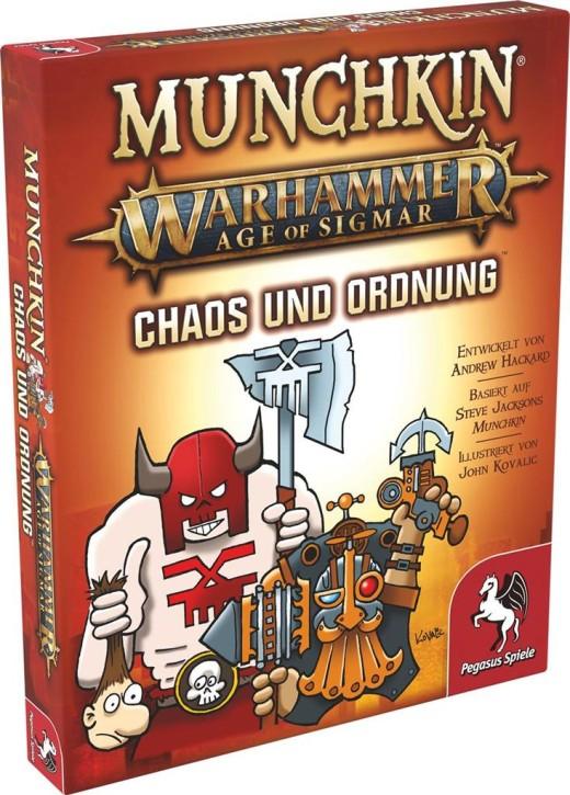 MUNCHKIN: Warhammer Age of Sigmar: Chaos & Ordnung - DE