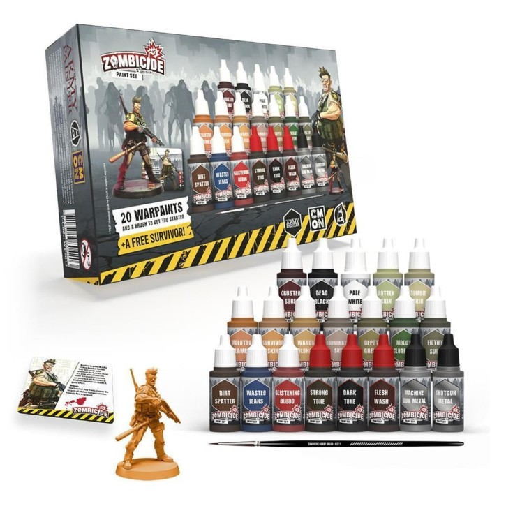 ARMY PAINTER: Zombicide 2nd ed. Paint Set