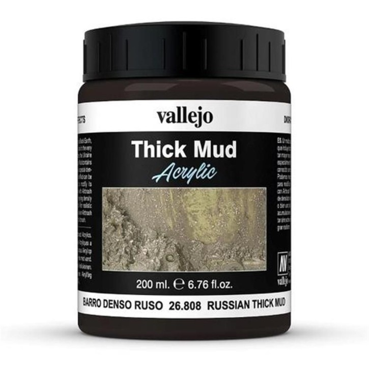VALLEJO WEATHERING: Thick Mud Russian 200 ml
