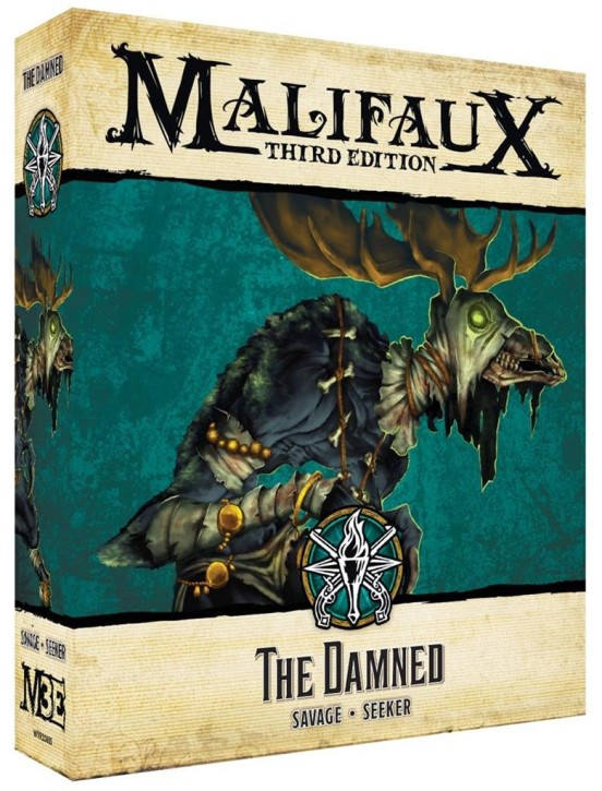 MALIFAUX 3RD: The Damned