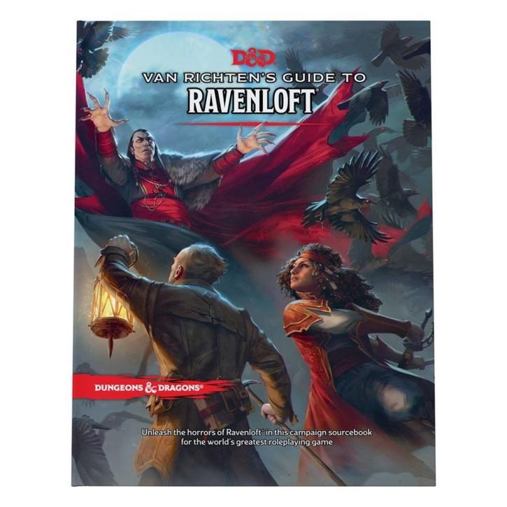 D&D RPG: Van Richtens Guide to Ravenloft HC - EN