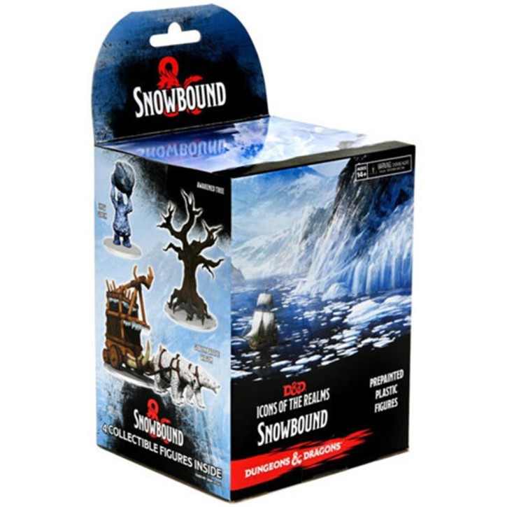 D&D ICONS OF THE REALMS: Snowbound Set 19 Booster (1)