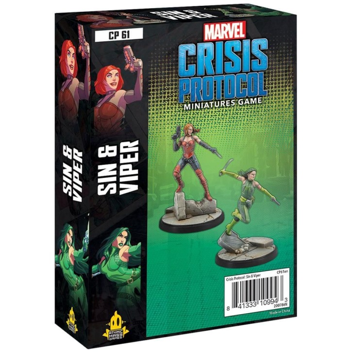 MARVEL CRISIS: Sin and Viper - EN
