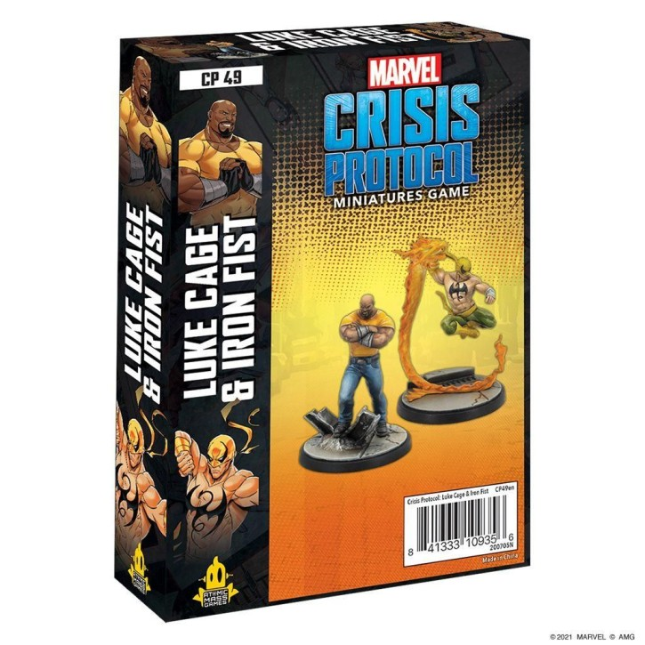 MARVEL CRISIS: Luke Cage and Iron Fist - EN