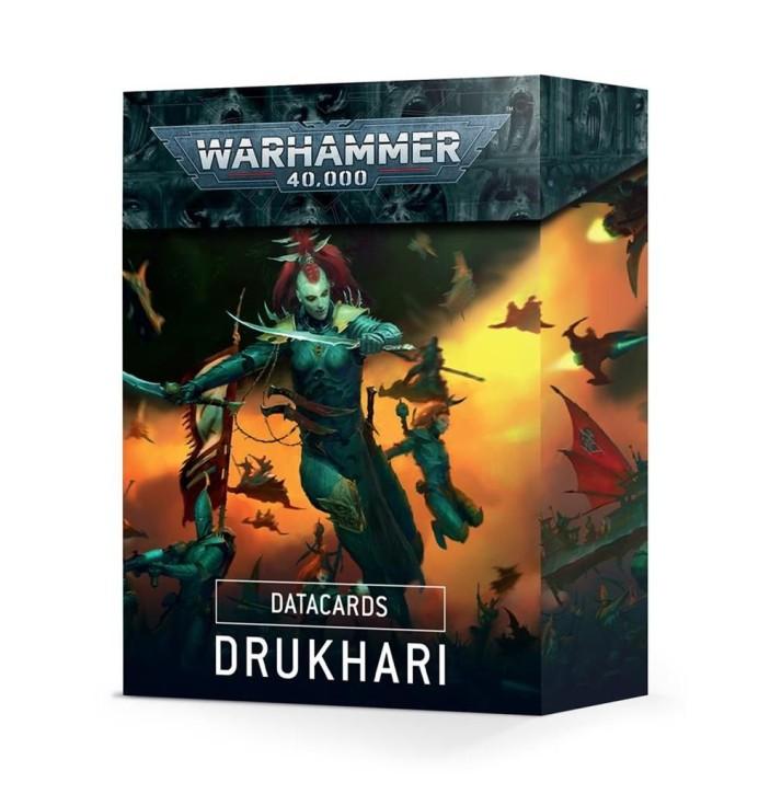 W40K: Datacards: Drukhari - DE