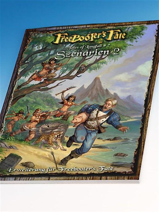 FREEBOOTERS FATE 2ND: Szenarienbuch - DE