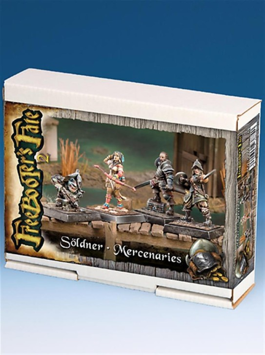 FREEBOOTERS FATE 2ND: Söldner-Starterbox