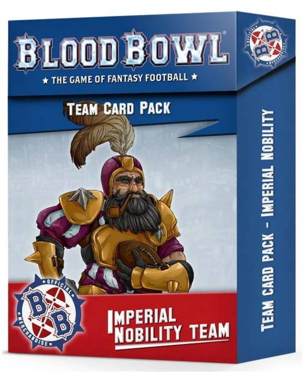 BLOOD BOWL: Imperial Nobility Card Pack - EN