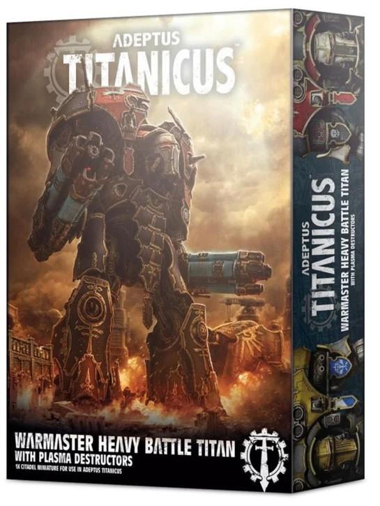 W40K: ADEPTUS TITANICUS: Warmaster Heavy Battle Titan