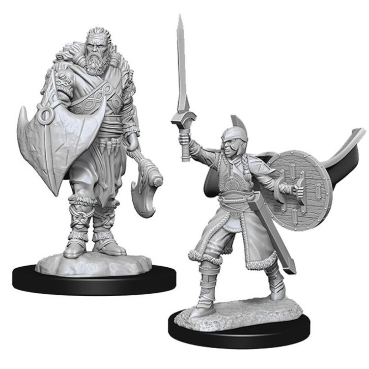 MAGIC MINIATURES: Human Berserkers