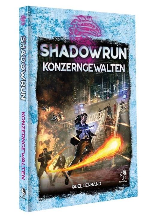 SHADOWRUN 6: Konzerngewalten (Hardcover) - DE