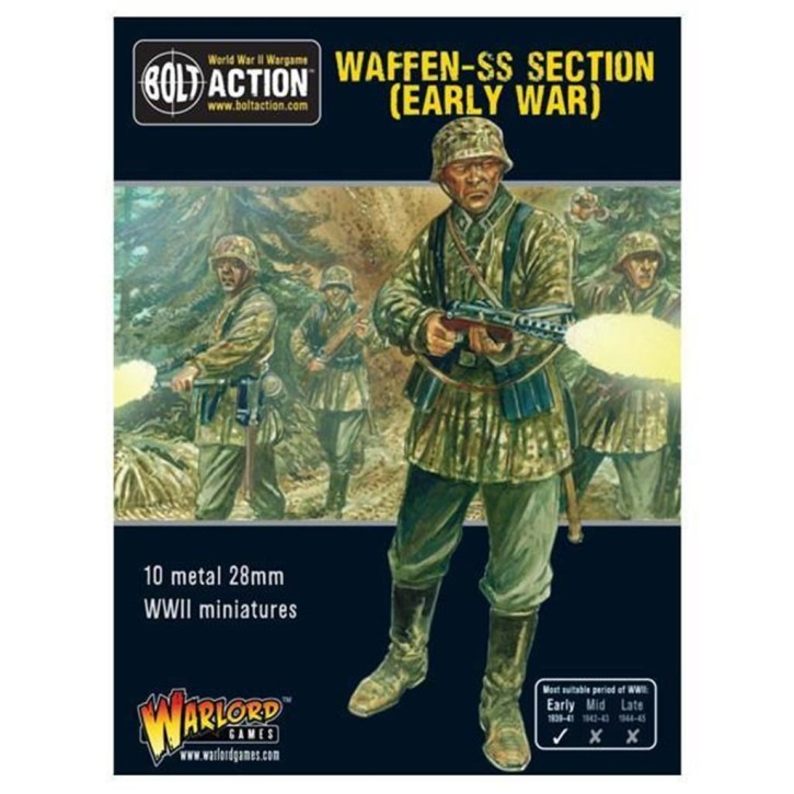 BOLT ACTION: Early War Waffen SS Squad (1939-1942)