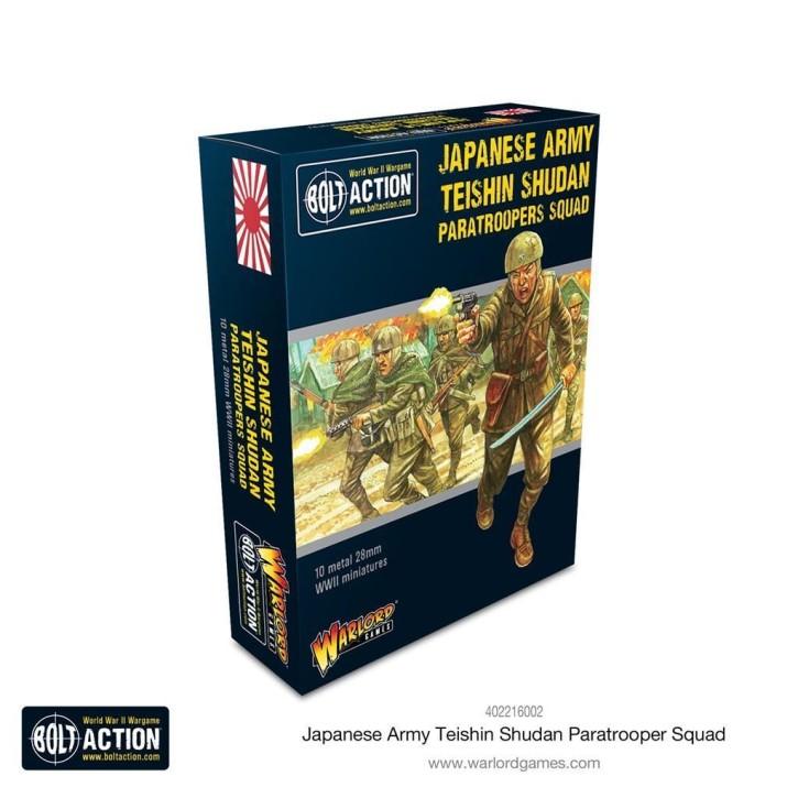 BOLT ACTION: Teishin Shudan Paratrooper squad
