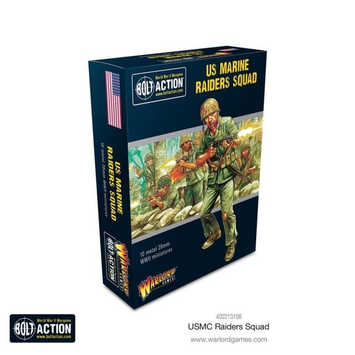 BOLT ACTION: US Marine Raider squad