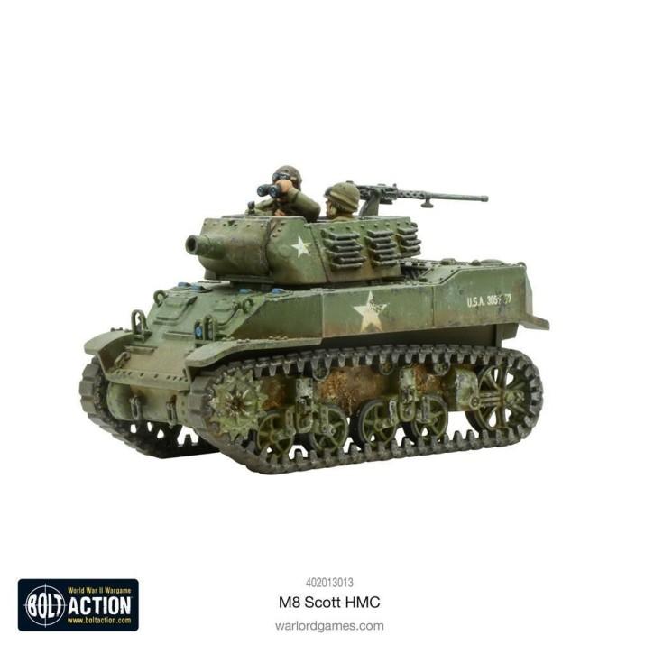 BOLT ACTION: M8 Scott HMC