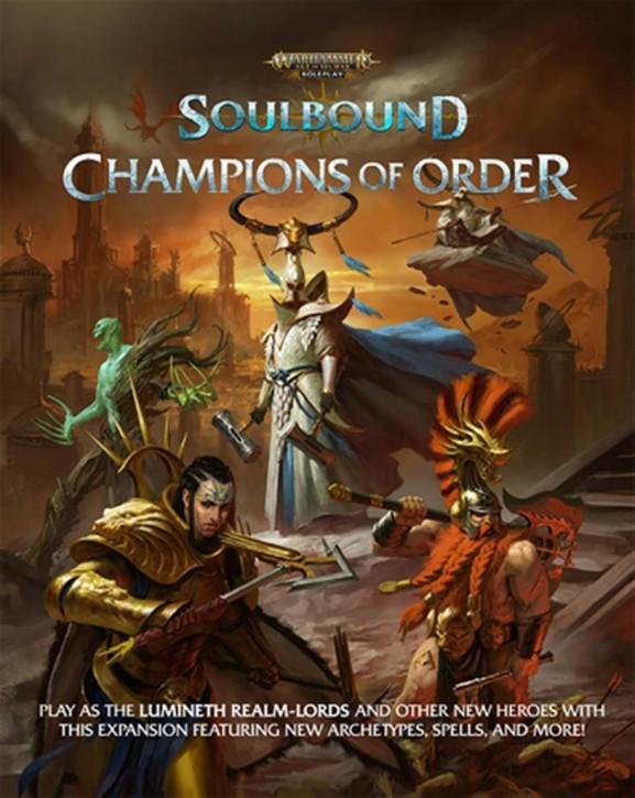 AOS RPG: Soulbound Champions of Order - EN